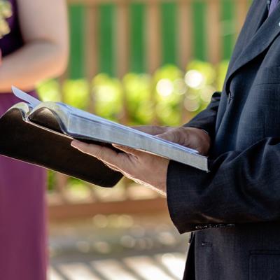 Wedding Reception Dinner Prayer | Rev David Kenney